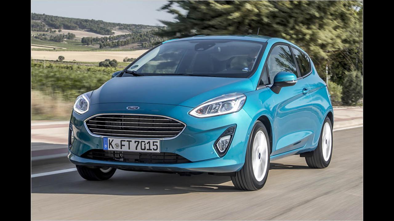 Kleinwagen: Ford Fiesta