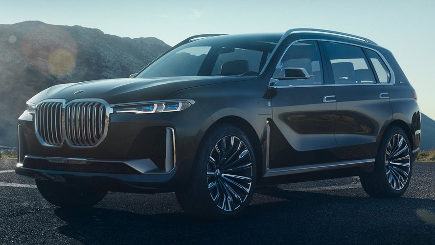 New BMW X7 iPerformance Concept Leaked Ahead Of Frankfurt