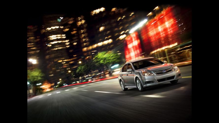 Subaru Legacy berlina 2010