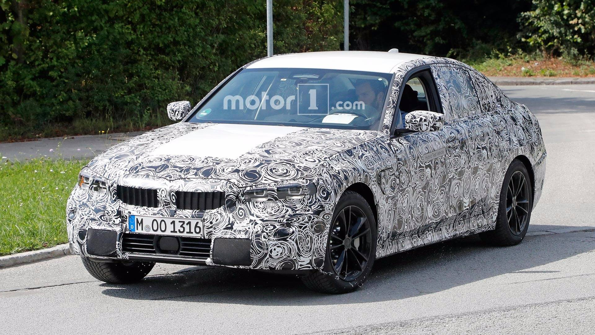 NextGen BMW Series Spied Showing Its Digital Instrument Panel - Bmw 3 series colors
