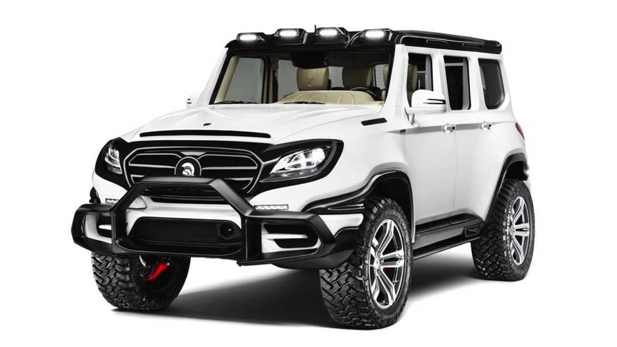 Átalakított Mercedesként mutatkozott be a 760 lóerős Ares X-Raid