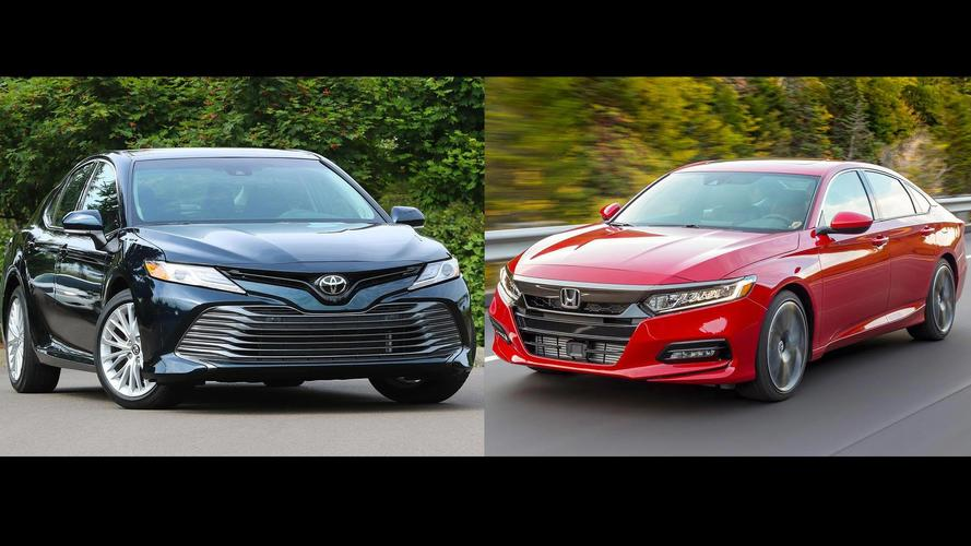 2018 honda accord vs 2018 toyota camry the family sedan battle. Black Bedroom Furniture Sets. Home Design Ideas