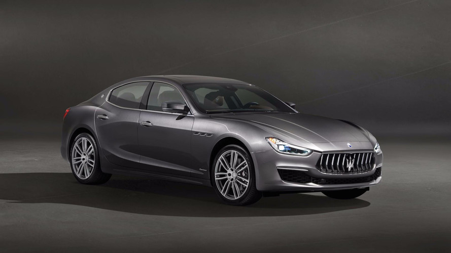 Maserati Ghibli GranLusso Lightly Updated For Chinese Debut