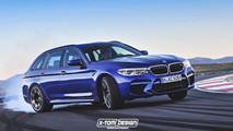 BMW M5 Touring Render