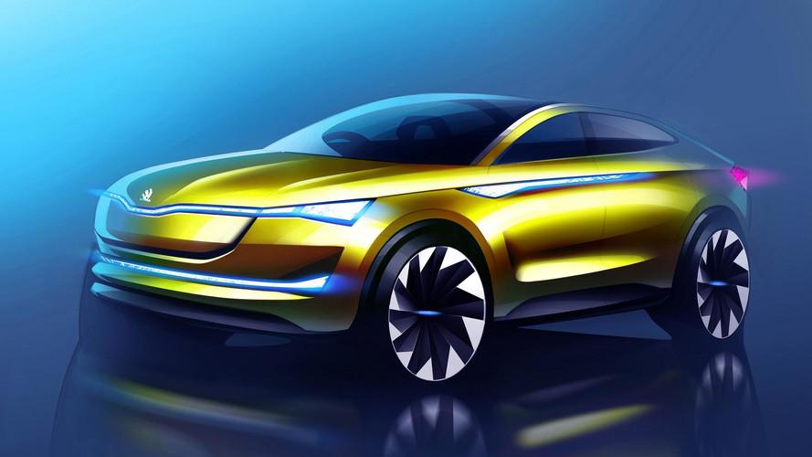 Yenilenen Skoda Vision E konsepti Frankfurt'ta ortaya çıkacak