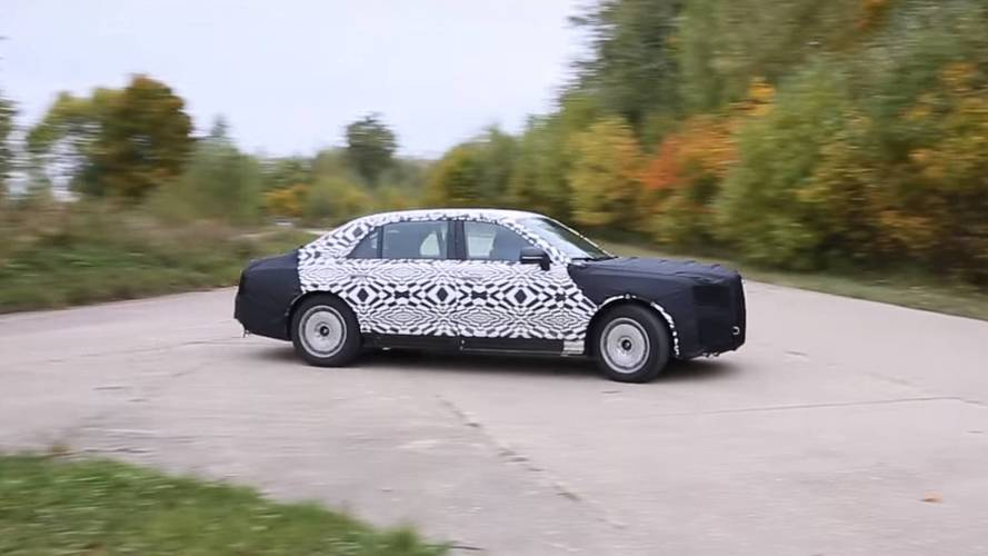 New Russian Luxury Limo Spied Testing Ahead Of 2018 Debut