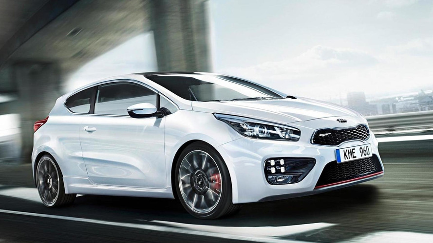Kia pro_cee'd GT new photos and technical details available