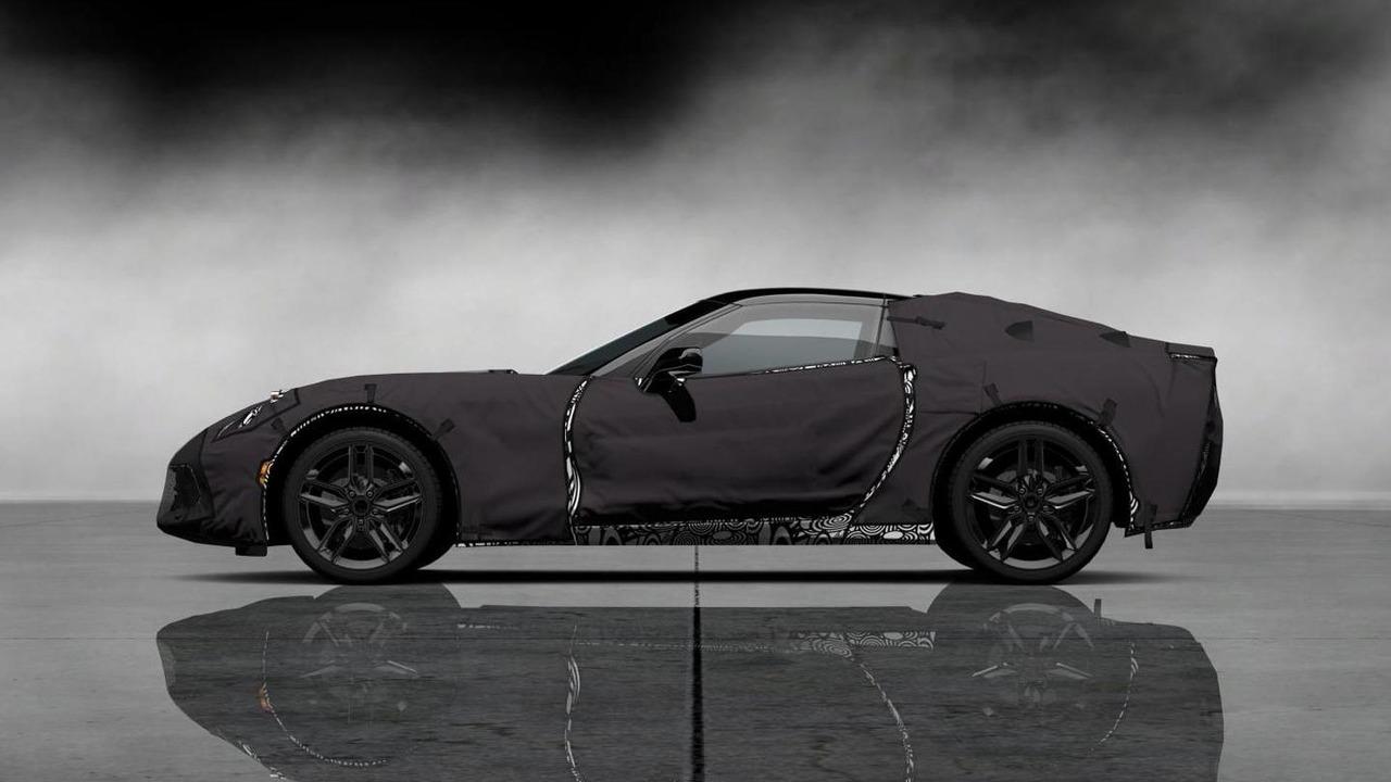 2014 Chevrolet Corvette camo prototype in Gran Turismo 5