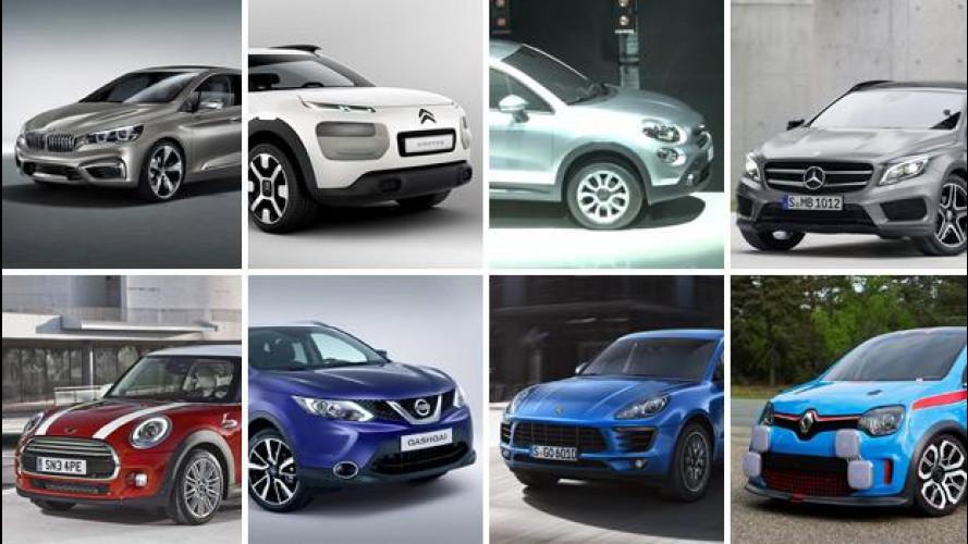 Auto, tutte le novità che vedremo nel 2014