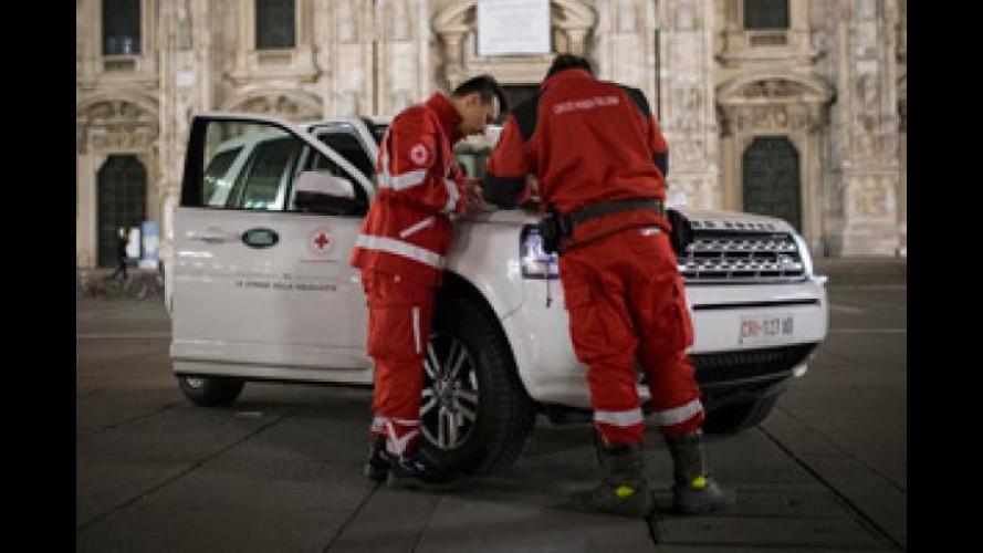 """Land Rover offre il """"Pasto della Solidarietà"""""""