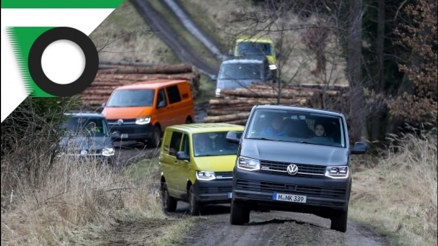 Volkswagen arricchisce la sua gamma di van 4x4