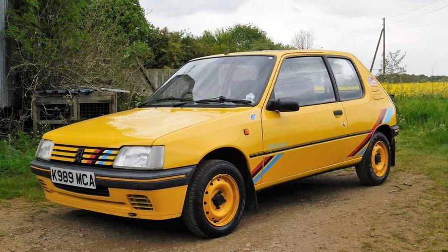 Cette Peugeot 205 Rallye printanière est à vendre