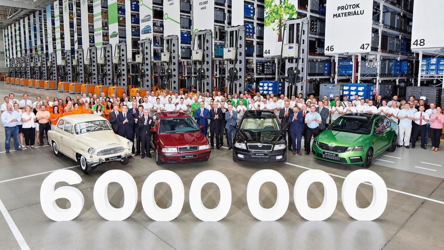 Škoda a assemblé six millions d'Octavia
