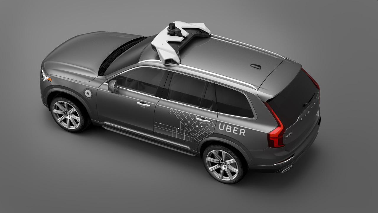 Volvo autonomous XC90 for Uber