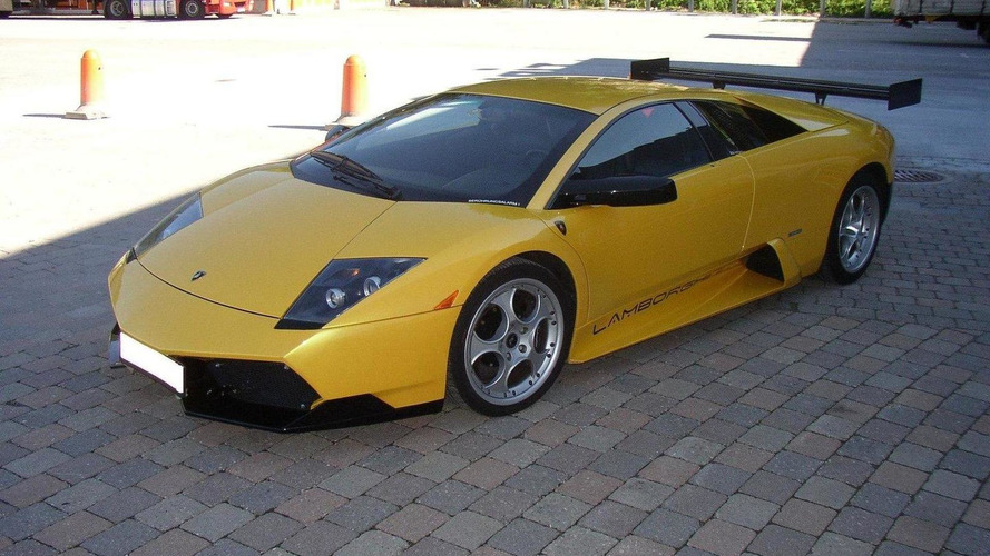 Lamborghini Murcielago SV body kit by DMC
