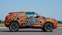 Range Rover Evoque prototypes go under cover 15.07.2010