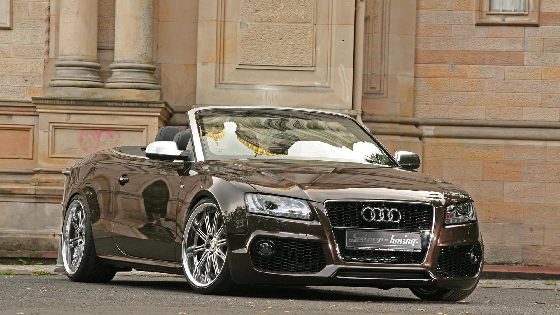 rs bodykit for audi a5 cabrio by senner tuning. Black Bedroom Furniture Sets. Home Design Ideas