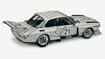 BMW Art Car by Frank Stella in miniature