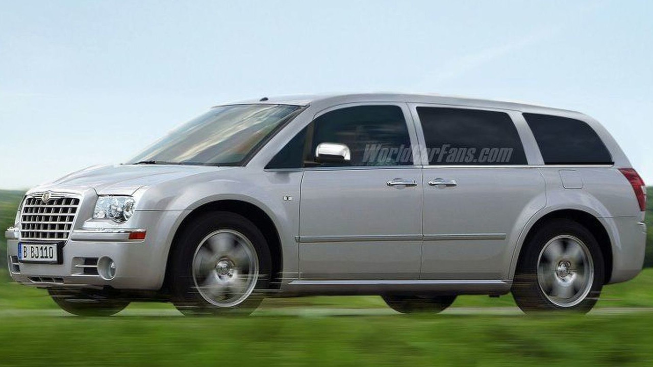 More 2008 Chrysler Voyager - Artist Impression