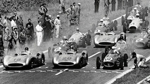 Start of French Grand Prix in Reims July 4 1954