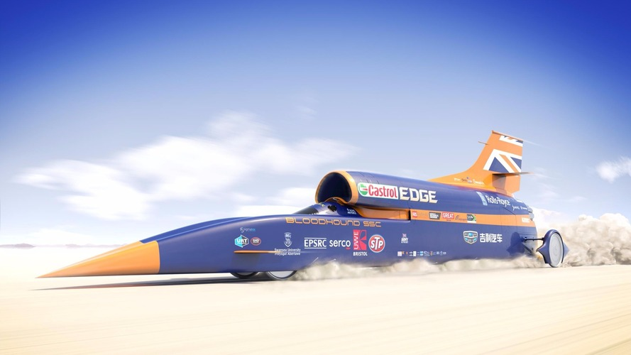 Bloodhound rocket car project saved by Geely