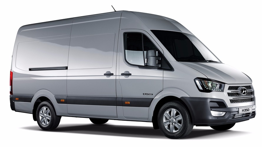 Hyundai H350 Fuel Cell Concept van debuts with 260 mile range