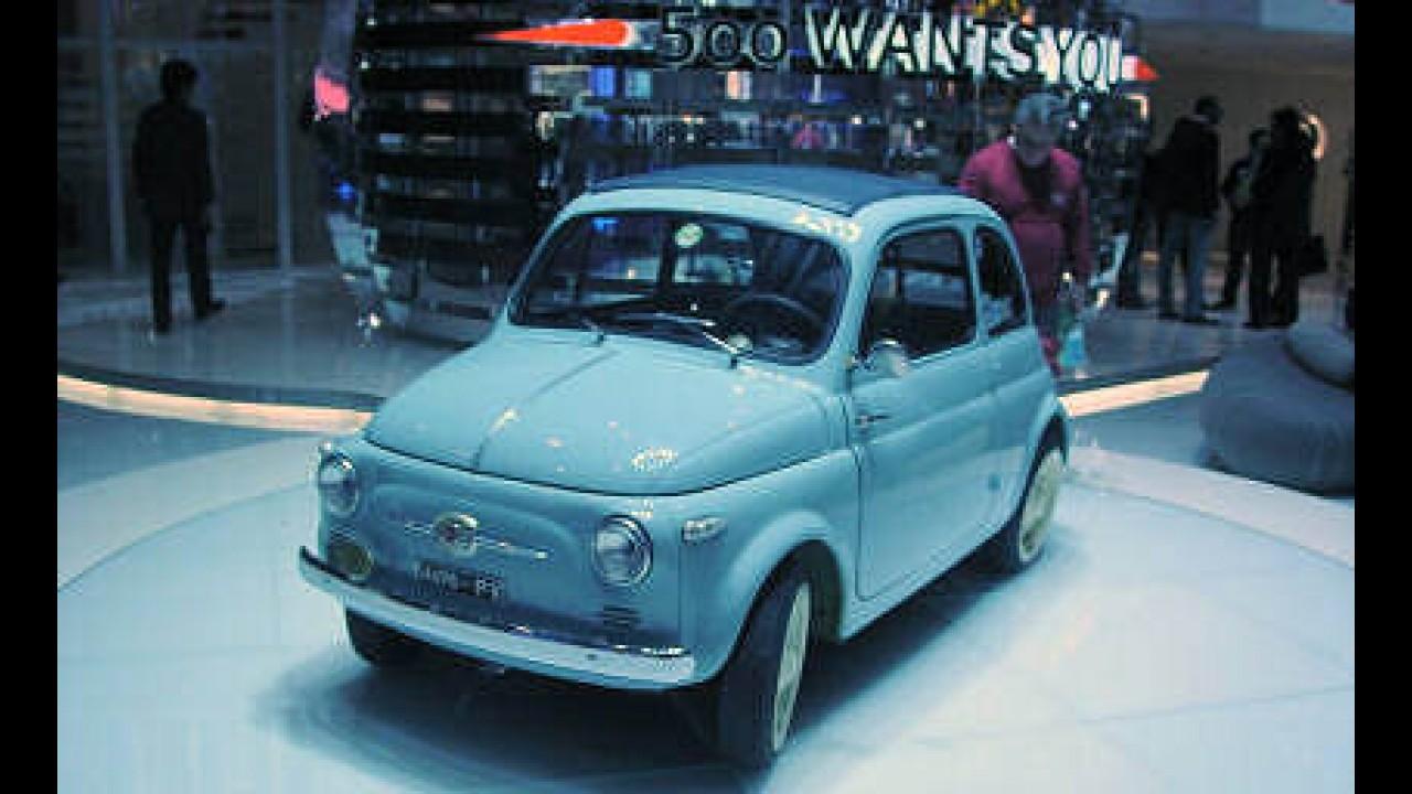 FIAT relança um antigo sucesso - o FIAT 500
