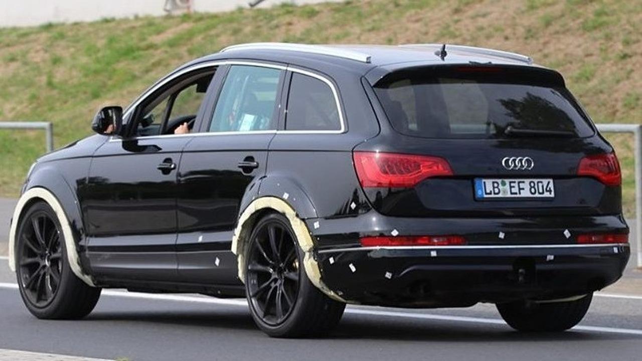 Audi Q7 test aracı casus fotoğrafı