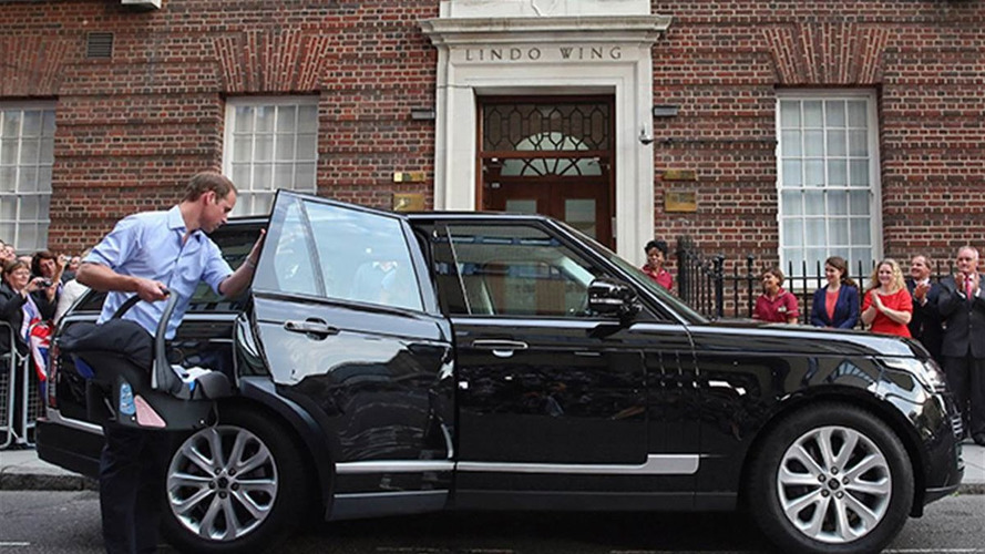 Iconic Royal Range Rover up for auction