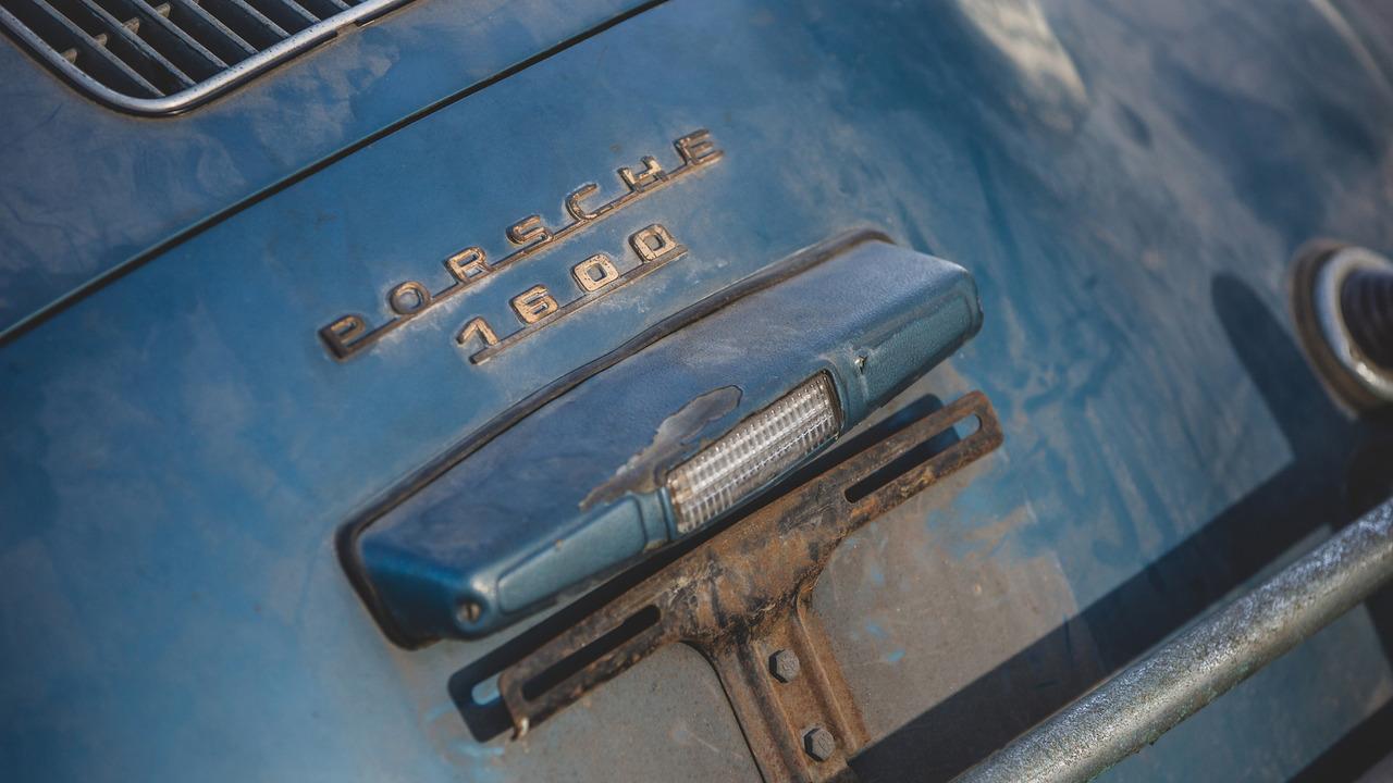 Barn Find Porsche 356 Speedster Heads To Auction With
