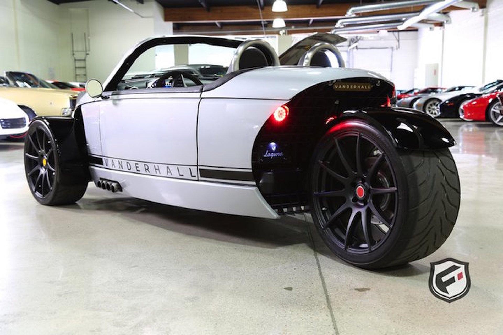 The Three-Wheeled Vanderhall Laguna is a Pricey Weekend Toy