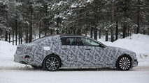 Mercedes E Class Maybach spy photo