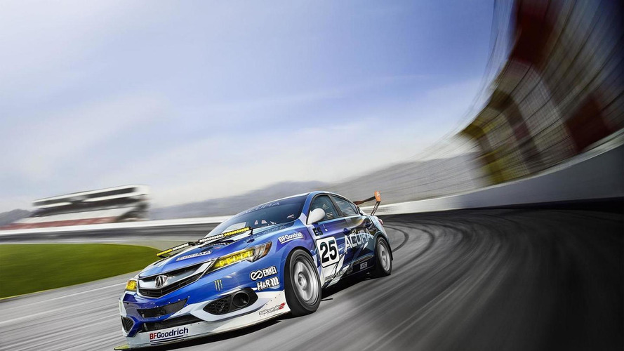 Acura ILX endurance race car revealed for New York