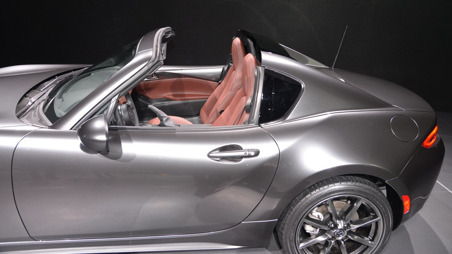 Mazda MX-5 RF live at New York Auto Show 2016