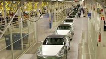 Boxster production at Valmet Automotive