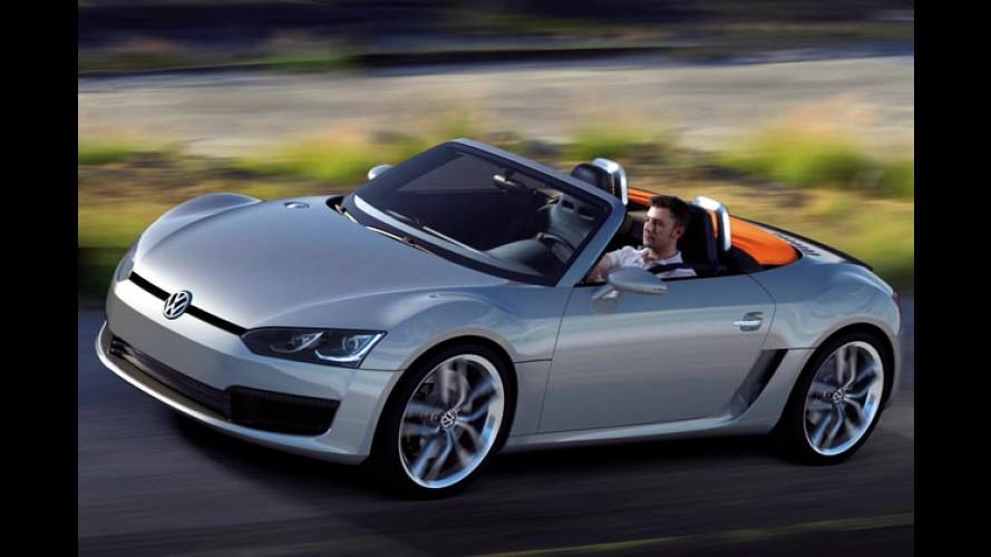 Detroit 2009: Weltpremiere des VW Concept BlueSport