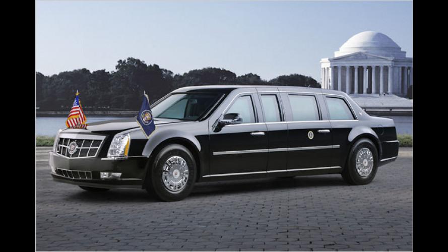 Cadillac begrüßt künftigen US-Präsidenten mit neuem Auto