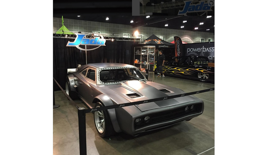 Vin Diesel's Fast 8 Charger has fake jet power, sounds mean