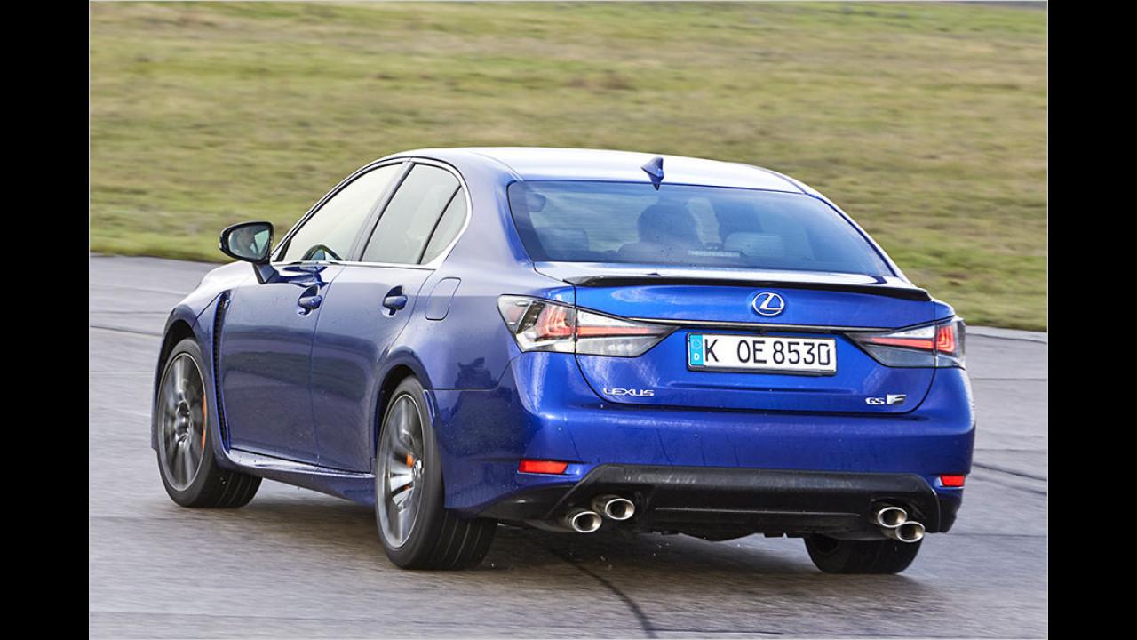 Platz 6: Lexus GS F