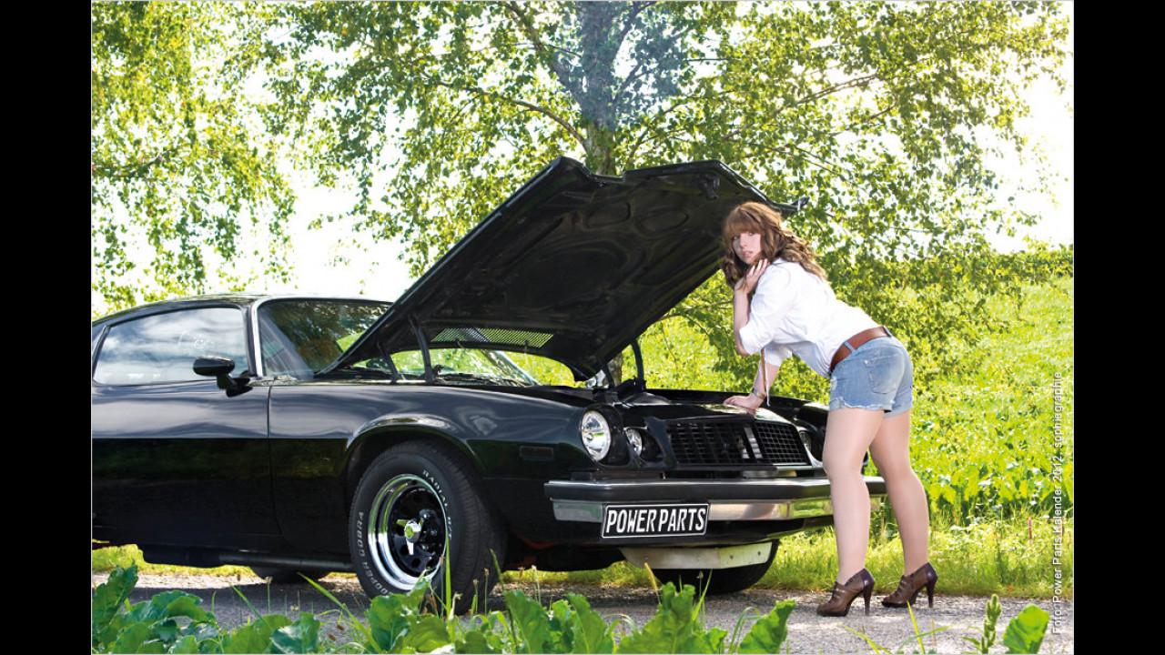 Chevrolet Camaro und Nadine