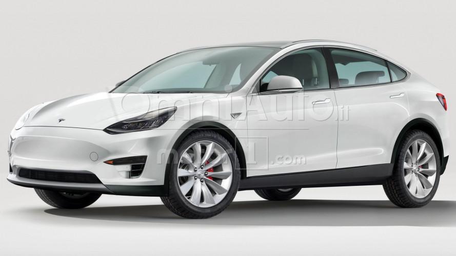 Tesla Model Y, in produzione (forse) nel 2019