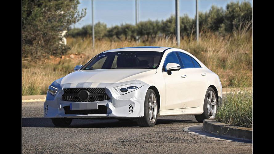 Neuer Mercedes CLS zeigt fast alles