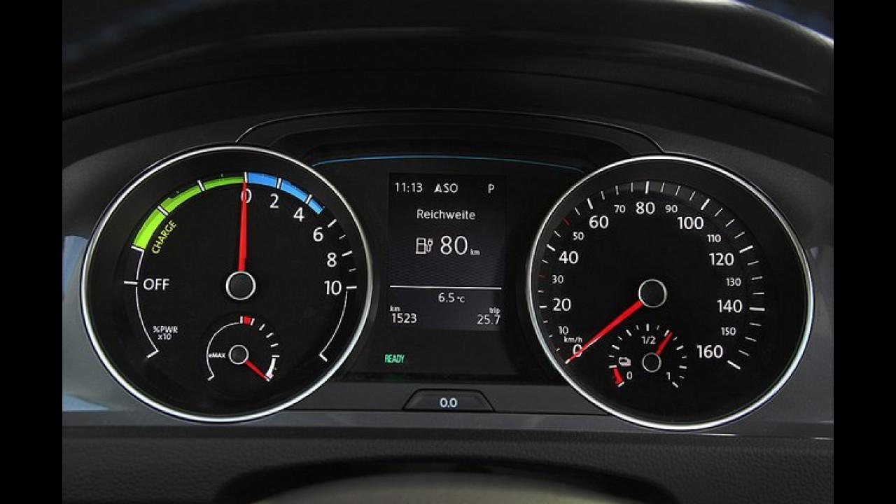 Volkswagen e-Golf - Versão elétrica de 115 cv será apresentada no Salão de Genebra