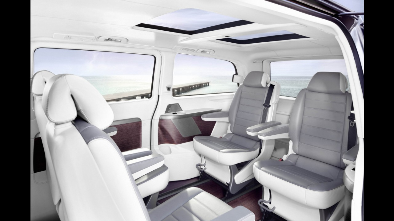 Mercedes-Benz revela Viano Vision Pearl, conceito de minivan de luxo