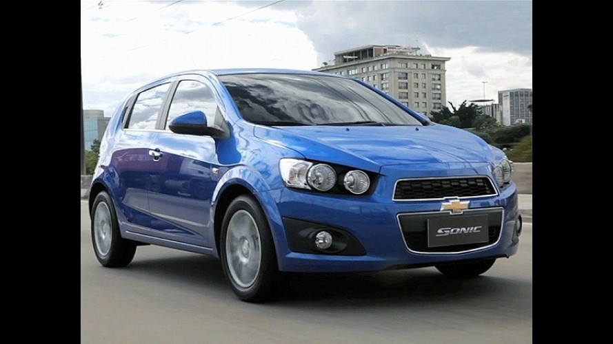 Recall envolve mais de 12 mil unidades do Chevrolet Sonic no Brasil