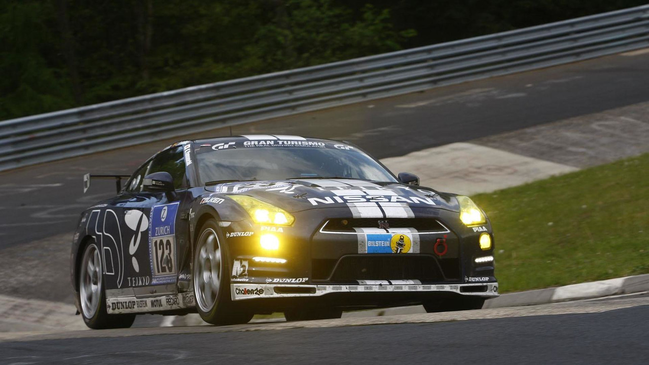 Nissan GT-R at the Nurburgring 24 Hours 21.5.2012