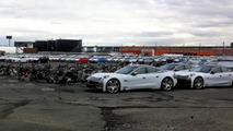 Fisker suing insurance firm over damaged Karmas after Sandy