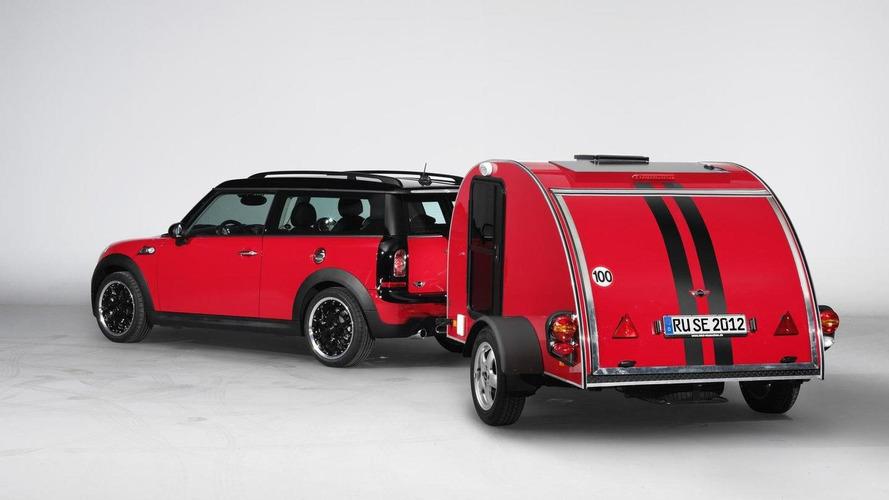 MINI Cowley Caravan and MINI Swindon Roof Top Tent introduced