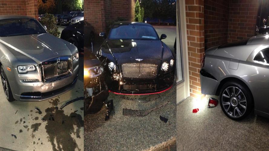 Rolls-Royce & Bentley Crash