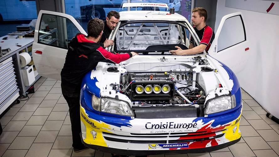 Dans les coulisses de la Peugeot 306 Maxi de Sébastien Loeb!